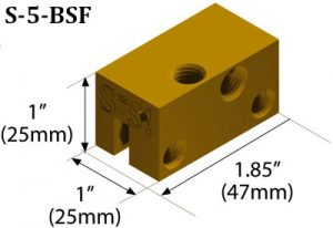 S-5-BSF Graphic with Measurements