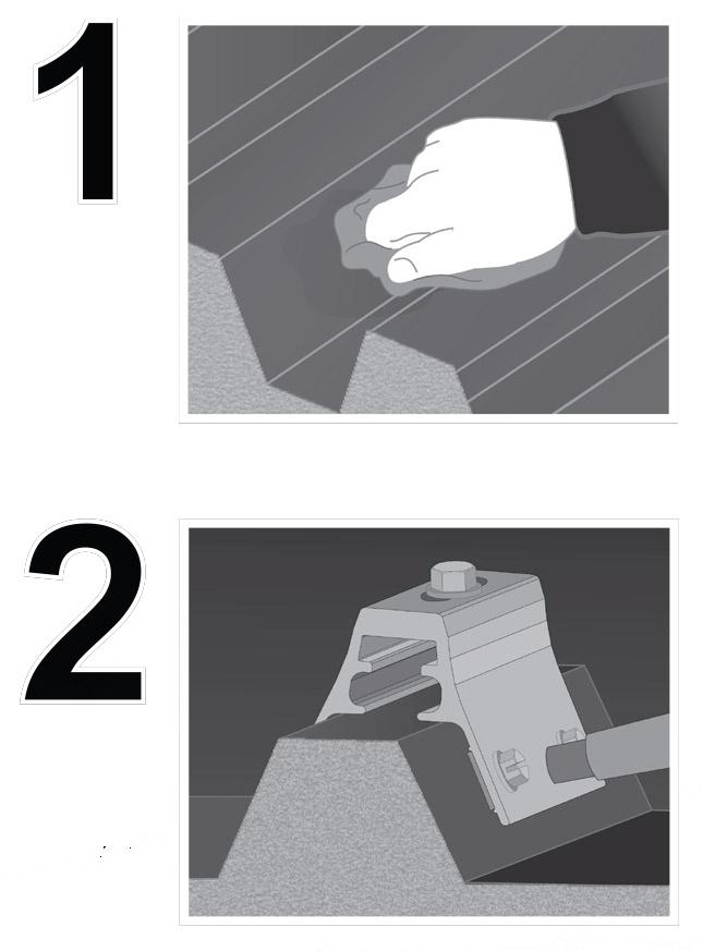 Ribbracket-install
